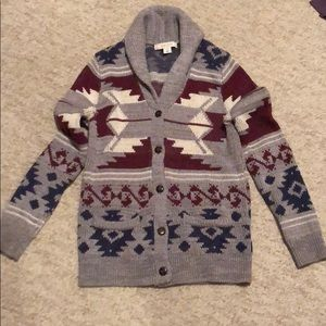 Extra small button down Adam Levine sweater